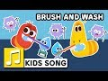 BRUSH AND WASH LARVA KIDS BEST NURSERY RHYME LEARNING SONG