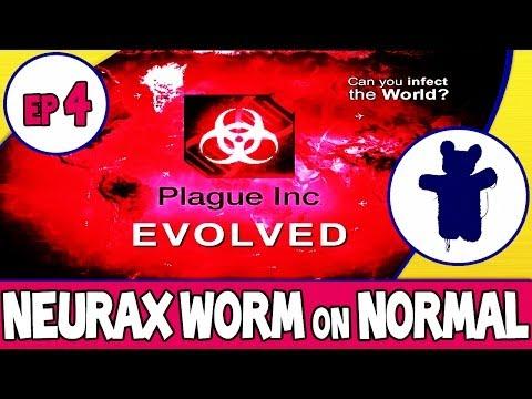 Plague Inc Evolved   Neurax Worm   Normal Walkthrough
