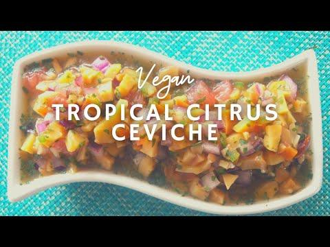 How To Make Vegan Ceviche | Tropical Citrus Ceviche | Korenn Rachelle