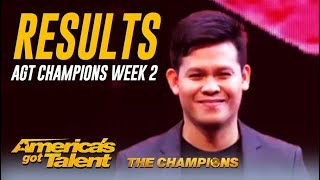 RESULTS: @America's Got Talent Champions Week 2 - Did Your Fave Make It?