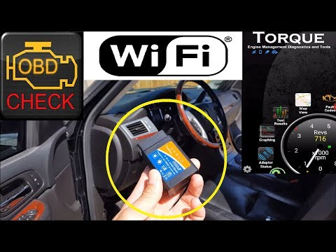 Globmall Trekpow Car Wifi OBD 2 diagnostic scanner for Android , IOS & Windows