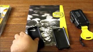 OtterBox Commuter Case (HTC Desire) & Waterproof Box Quick Looks
