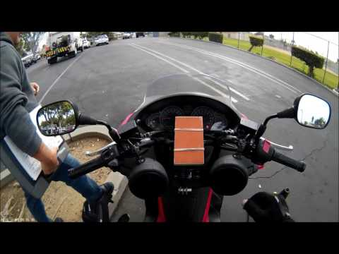 California DMV Motorcycle Driving Test - Montebello Office