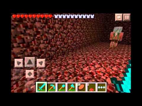 Nether Reactor Core in Minecraft PE 0.7.0