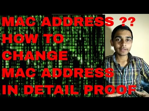 MAC ADDRESS IN DETAIL / HOW TO CHANGE MAC ADDRESS ON ANDROID 100% PROOF IN [HINDI]