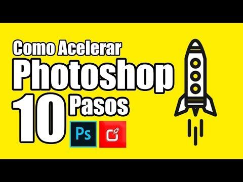 🔴¿Quieres Acelerar tu PHOTOSHOP? Sigue estos 10 SIMPLES PASOS ⭐⭐⭐⭐⭐