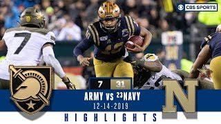 ARMY Vs NAVY 2019 Highlights Malcolm Perry Has A Historic Performance To Snap Streak CBS Sports