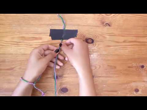 diy by Ouiame : Friendship bracelets (اساور الصداقة)