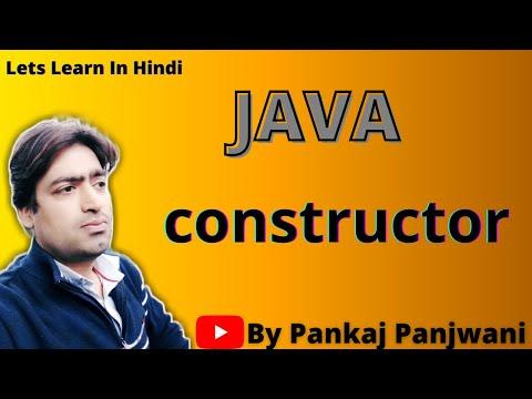 Constructor in Java By Pankaj Panjwani  |  Part 1 |  Hindi