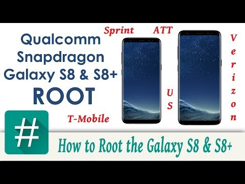 How to Root the Samsung Galaxy S8 & S8 Plus Qualcomm Snapdragon version.