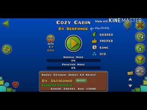 Cozy Cabin   800 Stars!   Geometry Dash dqp