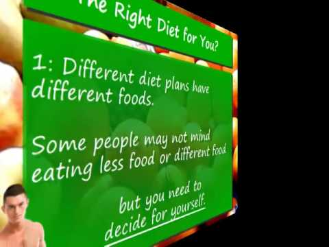 What is the Right Diet For You?