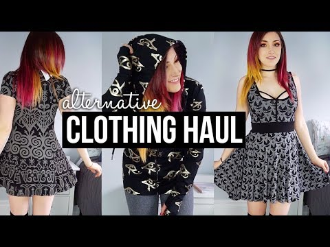 Alternative Clothing Try On Haul (Killstar, Forever 21) || KELLI MARISSA