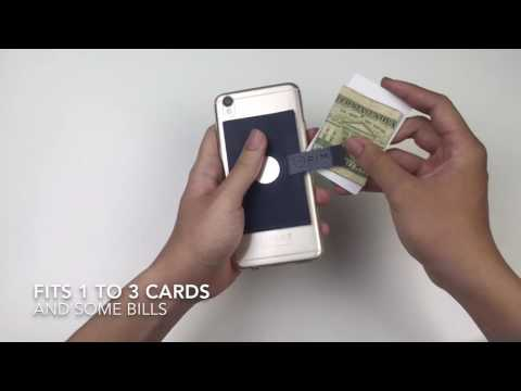 PIM Wallet - Stick On Wallet Phone Mount Solution