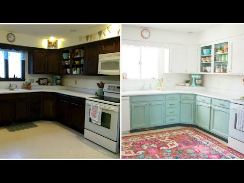 DIY Kitchen Makeover On A Budget - Before and After | You Need To Watch 2018