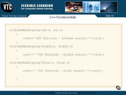07  C++  Templates   42  Function Overloading