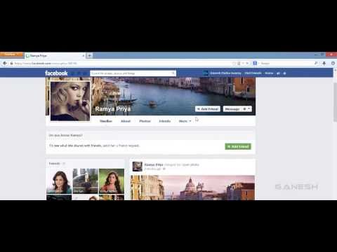 How to Open Facebook Private Profile Pictures in Full Size