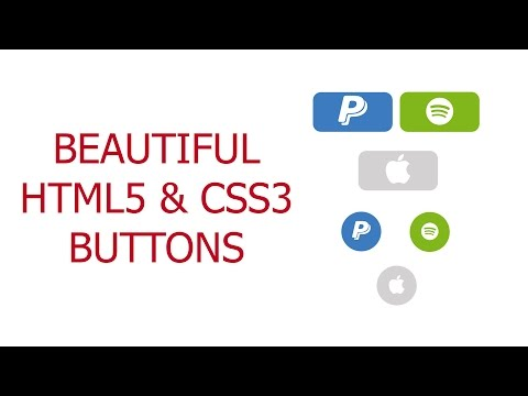 Beautiful Buttons: Using HTML5 and CSS3 to make awesome buttons with FontAwesome