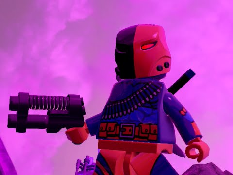 LEGO BATMAN 3 - Deathstroke FREE ROAM GAMEPLAY