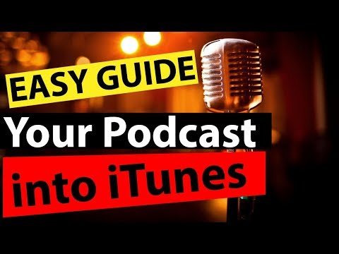 How to Setup a Podcast Account on iTunes Super Easy - How to Setup a Podcast Channel on iTunes