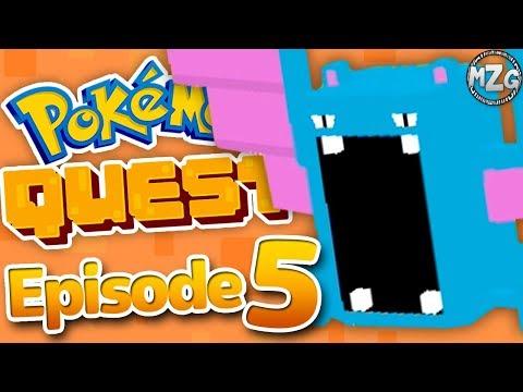 Pokemon Quest Gameplay Walkthrough - Episode 5 - World 4! First Evolution! (Nintendo Switch)
