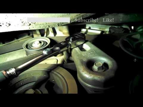 Serpentine belt replacement Ford Escape 2007 3.0L V6 Tribute Mariner