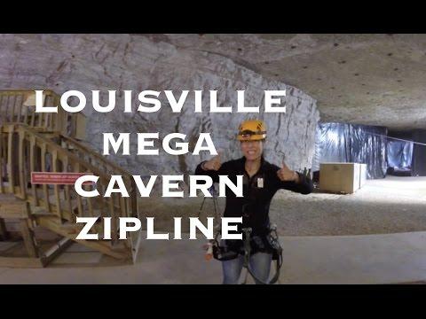 Louisville Mega Cavern Underground Zip Line | Kentucky Travel Guide