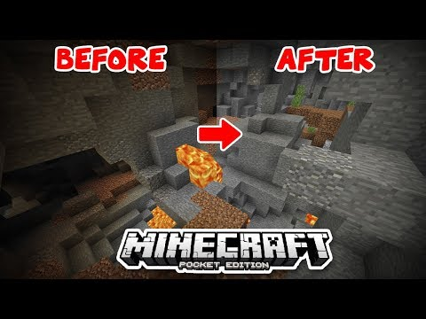 NIGHT VISION TORCH MOD IN MCPE (Minecraft Bedrock Edition)