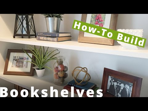 How to Build Shaker Style Bookshelves | Woodworking