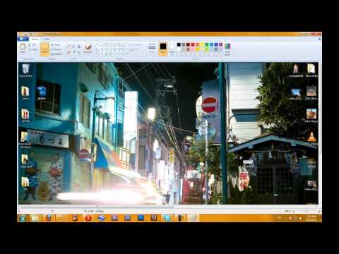 How To #6 take a Screen shot with windows 7 / Vista