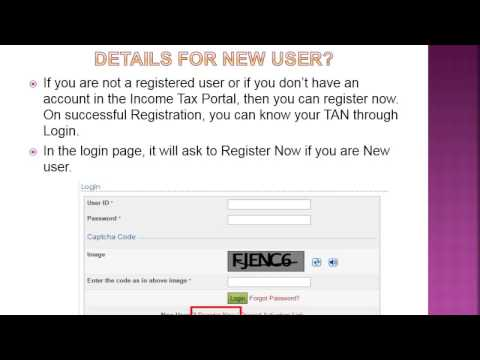 Know your TAN by Name & Jurisdiction by TAN Number