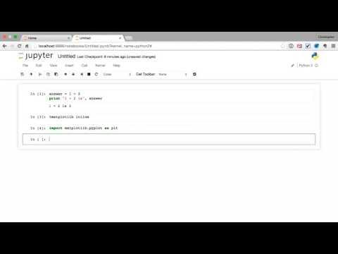 Matplotlib for Developers | Using Matplotlib with Jupyter