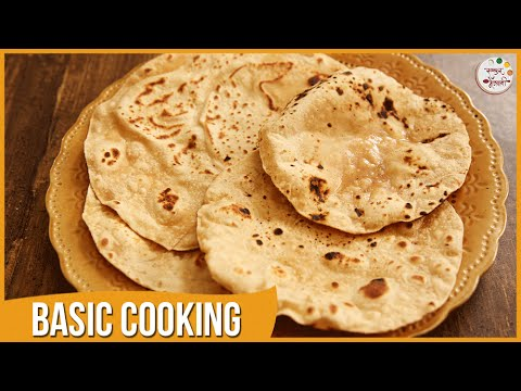 How To Make Chapati / Fulka / Roti | Basic Cooking | Recipe by Archana in Marathi