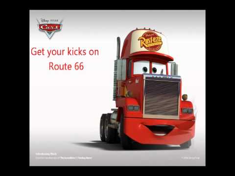 Route 66 - Chuck Berry - Lyrics - Cars