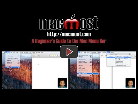 A Beginner's Guide to the Mac Menu Bar (#1433)