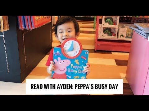 Peppa Pig | Peppa's Busy Day: Read and Tell Time
