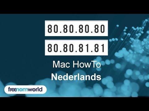Freenom World Mac HowTo (Nederlands)