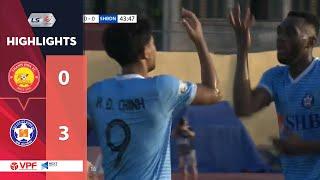 Highlights   Thanh Hóa - SHB Đà Nẵng   Đức Chinh tỏa sáng, 3 điểm ngay tại xứ Thanh   VPF Media