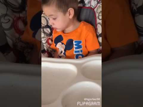 2 Year old SCARED OF A FLY ! ! !