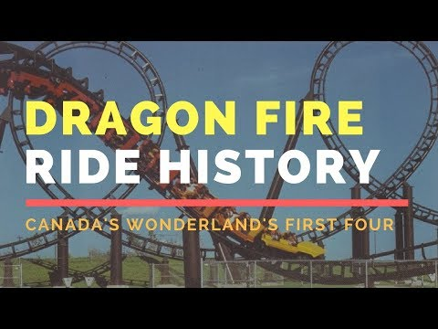 Dragon Fire: Arrow's Last Counter-Clockwise Corkscrew [Canada's Wonderland Ride History]