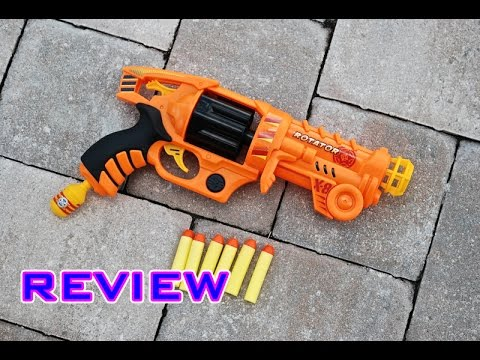 [REVIEW] Total Air X-Stream Rotator X-8 Revolver Unboxing, Review, & Firing Test