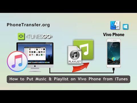 How to Put Music & Playlist on Vivo Phone from iTunes Effortlessly