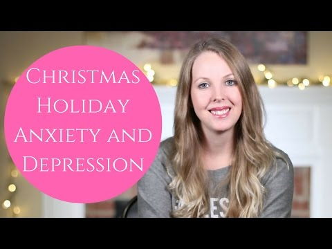 Christmas Holiday Anxiety And Depression