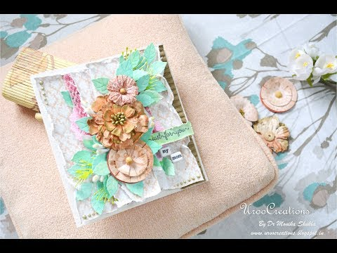 DIY Mother's Day Card Idea   DIY Cards   Crafts   Easy Card   Cardmaking Tutorials   UrooCreations