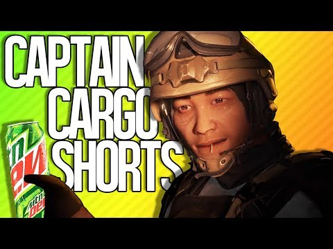 CAPTAIN CARGO SHORTS | Rainbow Six Siege