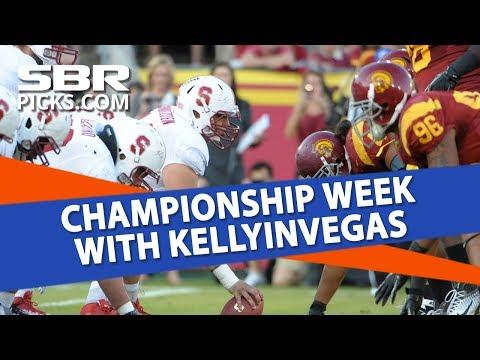 College Football Free Picks | Championship Week with KellyInVegas