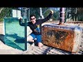 THORS HAMMER Vs DOUBLE BULLETPROOF GLASS From 45m