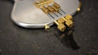 Tiny Lathe  - Ukulele Strap Buttons