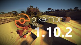 Minecraft How To Install Pixelmon Mod 1102 Ver 500