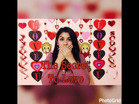 The Secret Of Love for VALENTINE'S DAY!!!!! Wisdom Wednesdays!